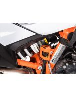 Osłona tylnego zbiorniczka płynu hamulcowego, pomarańczowa do KTM 890 Adventure/ 890 Adventure R/ 790 Adventure / Adventure R/ 1290 Super Adventure (2021-)