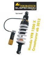 Touratech Suspension shock absorber for Honda VFR 1200 X Crosstourer from 2012 type Level2/ExploreHP