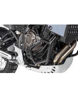 Gmole dolne ze stali nierdzewnej, czarne, Yamaha Tenere 700