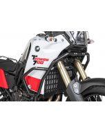 Gmole górne ze stali nierdzewnej, czarne, Yamaha Tenere 700