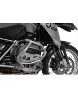 Cylinder protector, natural aluminium for BMW R1200GS from 2013/ BMW R1200RT from 2014/BMW R1200R from 2015/ BMW R1200RS