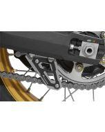 Płetwa osłony łańcucha, czarna, do Hondy CRF 1000L Africa Twin/ CRF1000L Adventure Sports