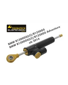 """Touratech Suspension steering damper """"CSC"""" for BMW R1200GS(LC)/R1250GS/BMW R1200GS(LC)/R1250GS Adventure 2014 onwards, with mounting kit"""