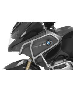 Stainless steel crash bar extension for BMW R1200RT (LC)