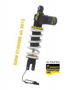 Touratech Suspension Competition Plug & Race Shock Absorber for BMW S1000RR from 2015