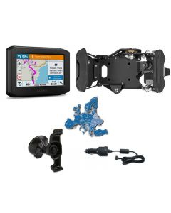 Garmin zumo 396 LMT-S Bike & Car Set, black