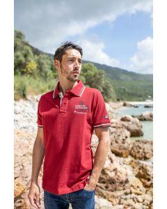 """Koszulka Polo """"Adventure Red"""" unisex"""