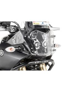 Headlight protector makrolon with quick release fastener for Yamaha Tenere 700 *OFFROAD USE ONLY*
