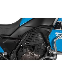 Engine cover (Set), black for Yamaha Tenere 700