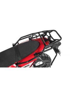 ZEGA Topcase / Luggage rack black, stainless steel for Yamaha Tenere 700